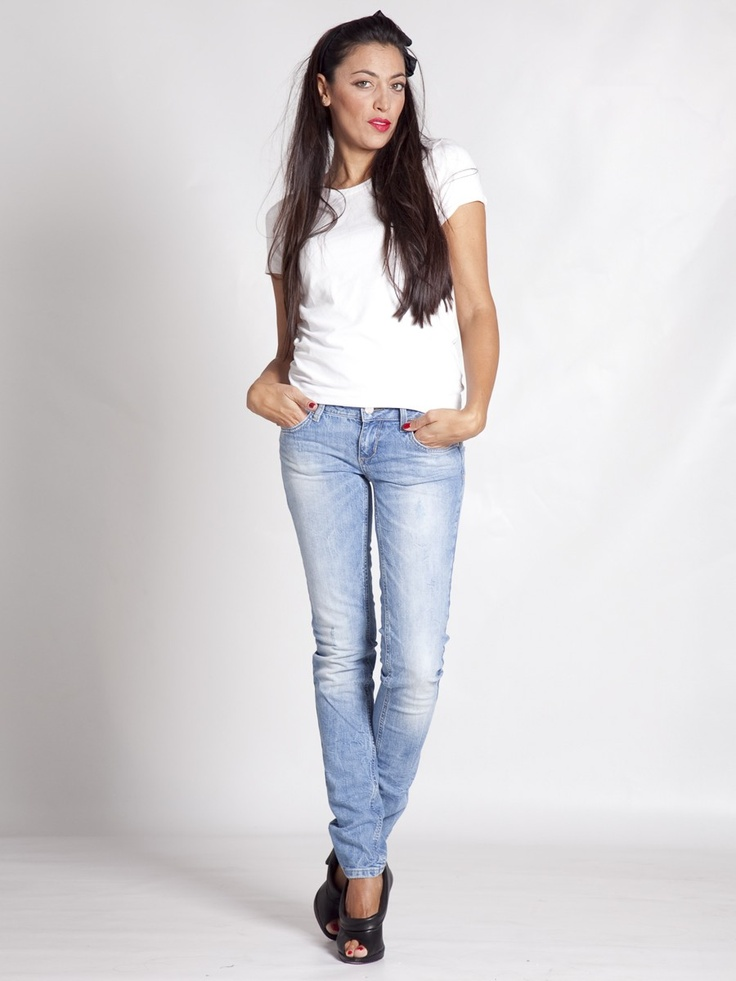 Jeans Bottom Up Super Low