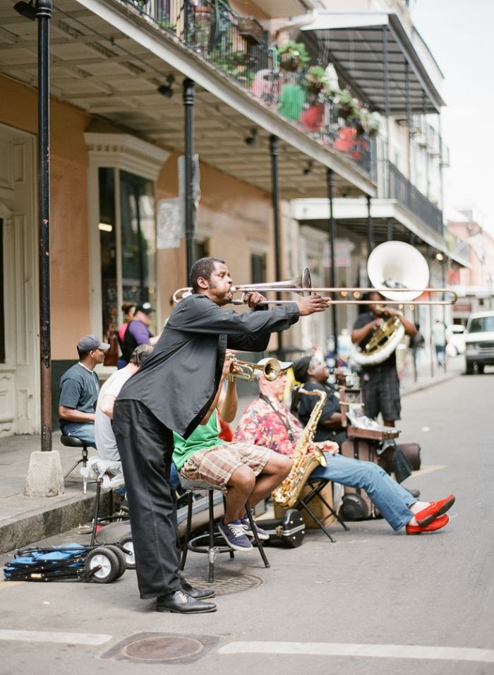 Street Musician in New Orleans Road Trip in 2019