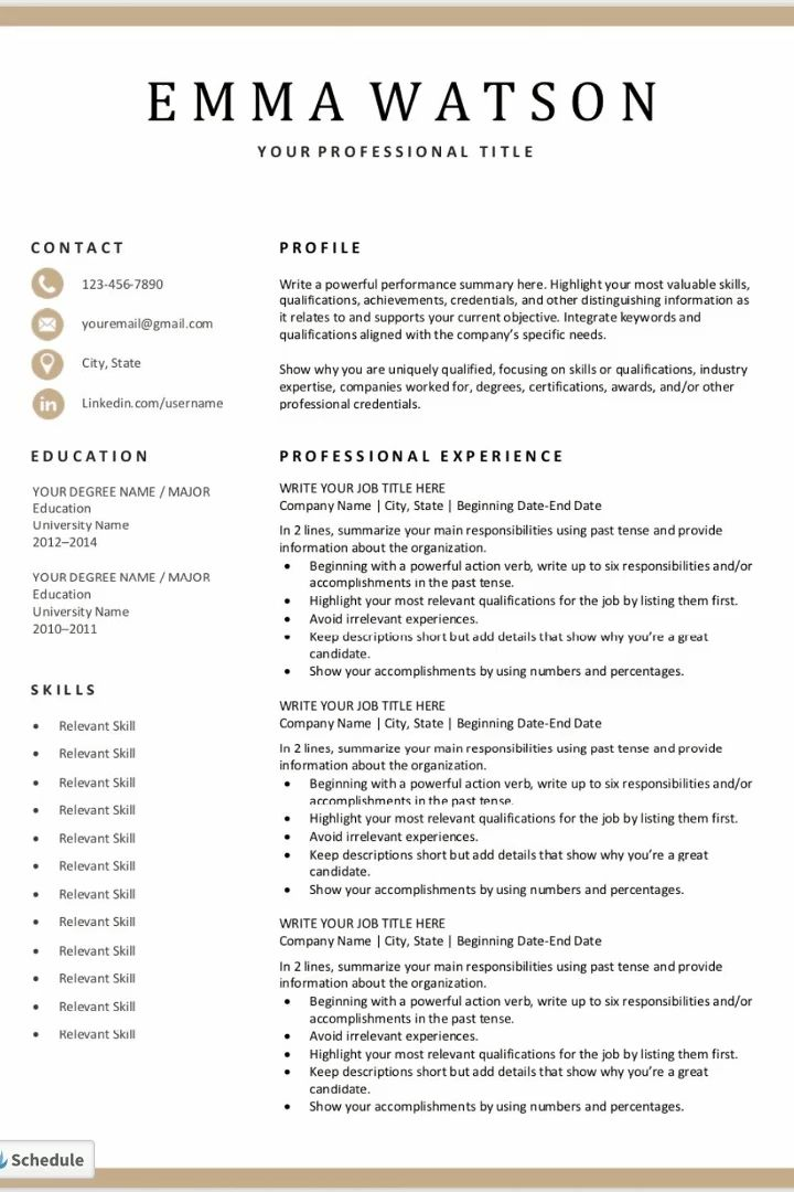 45 Free Modern Resume Cv Templates Minimalist Simple With How To Make A Cv Temp In 2020 Best Resume Template Microsoft Word Resume Template Simple Resume Template