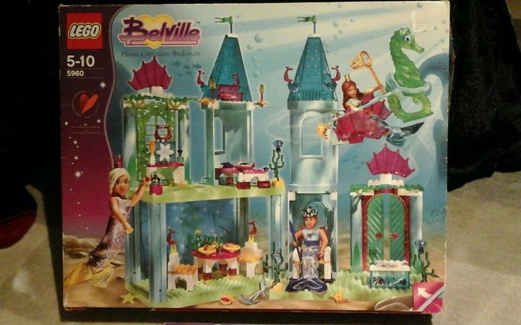 Lego Belville 5960 - The Little Mermaid, original box + instructions complete in Toys & Games, Construction Toys & Kits, LEGO | eBay!