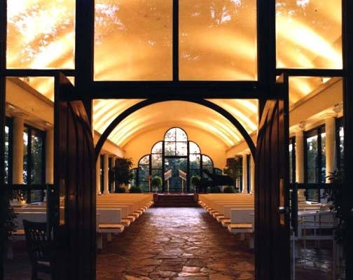 Wayfarers Chapel Also Known As The Glass Church An Indoor Outdoor Structure Made Almost Entirely Of And Built In 1951 Coast At Rancho Pa