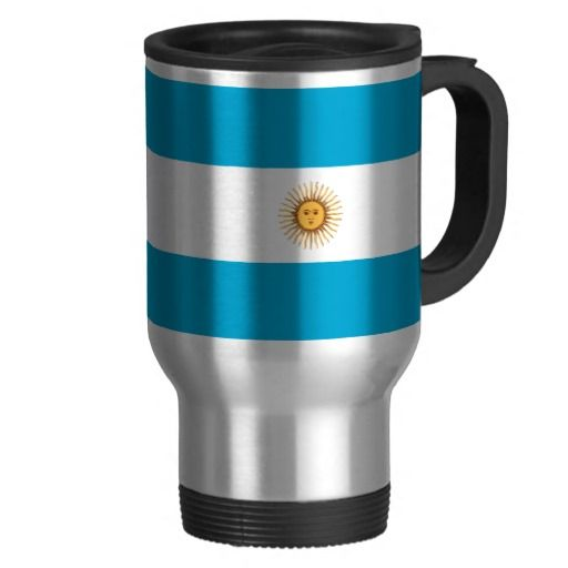 Argentina flag travel mug
