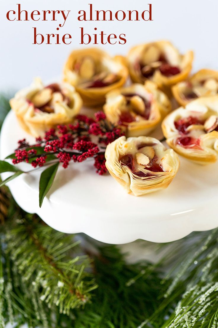 188 best perfect party appetizers images on pinterest food items party appetizer cherry almond brie bites forumfinder Image collections