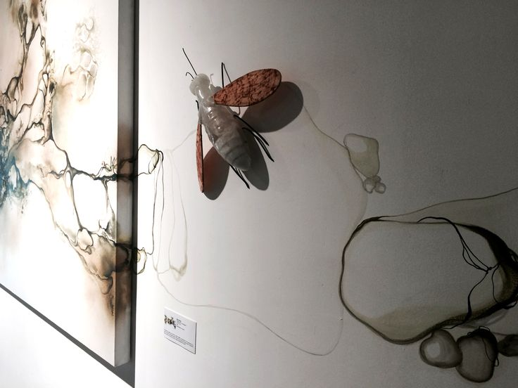 Artist Rikke Darling. Solo exhibition at Galeri Canna, Jakarta, Indonesia. 2014 www.rikkedarling.com  #artistrikkedarling #canna #galeri #painting #acrylic #artwork #art #artist #gallery #artgallery #rikkedarling #jakarta #Indonesia #firefly #kunangkunang #galericanna