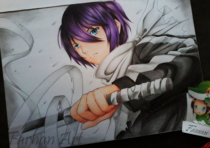 Yato God from Noragami by FarhanAbdillah.deviantart.com on @DeviantArt
