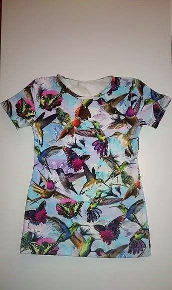 Wauw wat een happy Vogel jurk voor mijn dochters op Etsy