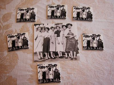 Family Reunion Favors Print family photos on shrink plastic, glue on a magnet and you have the perfect keepsake favors to hand out at a reunion.