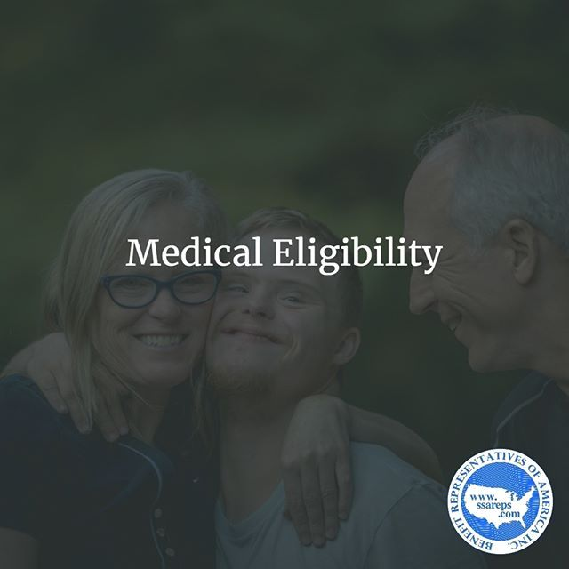 Medical Eligibility Ssdi Benefits Are Eligible Only To Those With