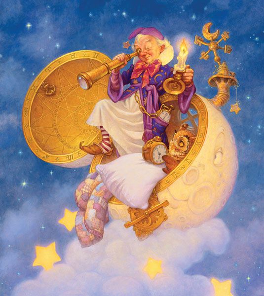 Scott Gustafson - The Man in the Moon