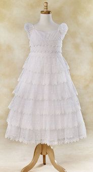 Baptism Dress. I've got to keep this idea in mind for Aria.