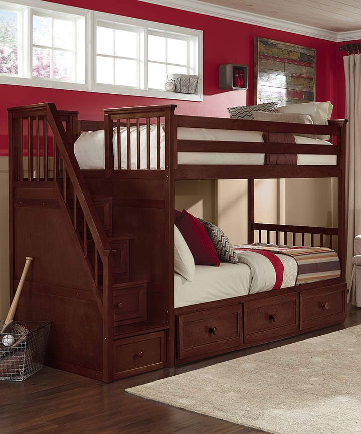 Bunk Beds With Stairs And Trundle 2021 In 2020 Bunk Beds Bunk Beds With Stairs Kids Bunk Beds