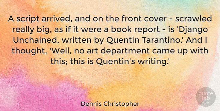 "Dennis Christopher: ""A script arrived, and on the front cover - scrawled really big, as if… #Art #Cover #quotes #quotetab #quotes #quotetab"