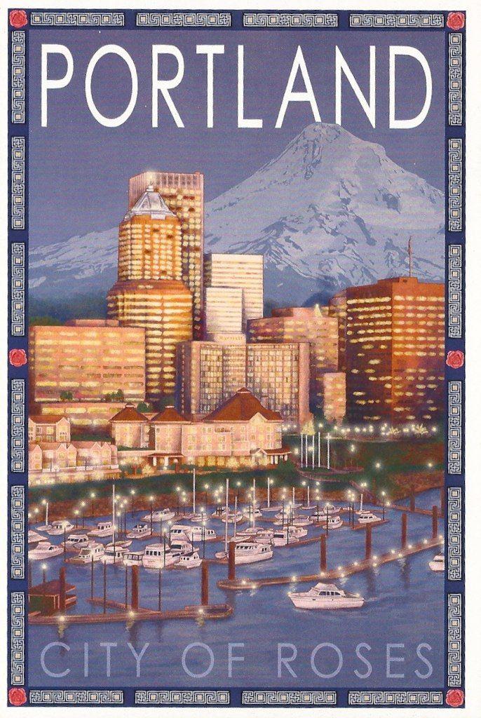 Portland Oregon 50 best On the Map
