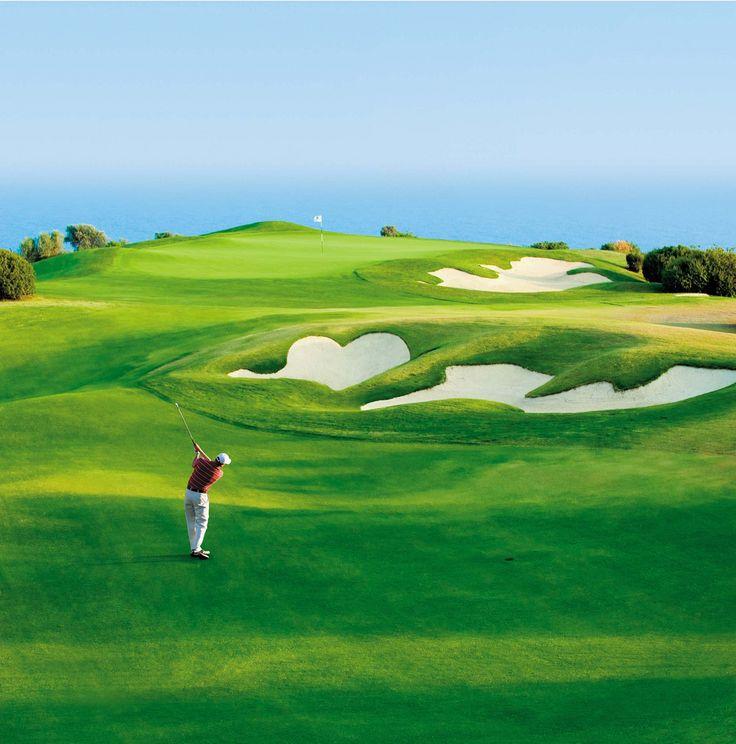#Cyprus - Astonishing #golf landscape