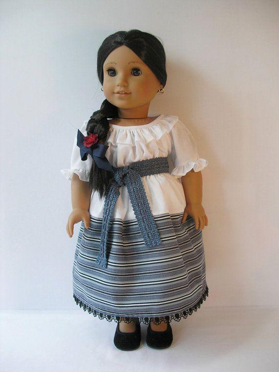 182410810 American Girl Josefina 18 Inch Doll Dress By