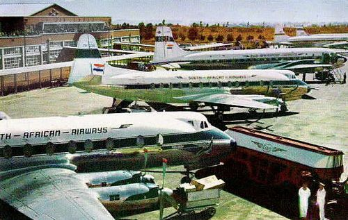 ☼✈South African Airways✈Jan Smuts Airport 1977