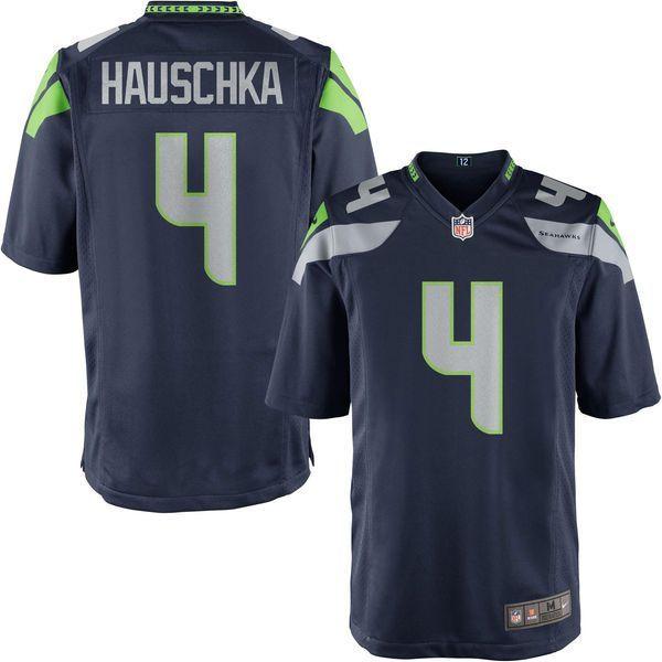 ... 4 Steven Hauschka Seattle Seahawks Nike Game Jersey - College Navy -  59.99 ... 71ab4780e