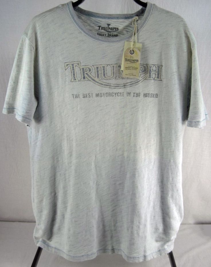 70 best images about men 39 s graphic t shirts on pinterest for Lucky brand triumph shirt