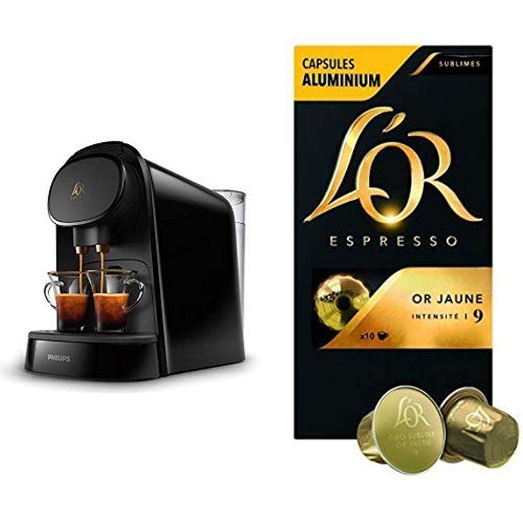 Capsules compatibles avec Nespresso 60 boissons L/'OR Café Lot Espresso