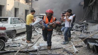 Korban Serangan Maut Rezim Suriah dan Rusia di Idlib Kebanyakan Anak-anak  SALAM-ONLINE: Serangan udara pesawat-pesawat tempur rezim Suriah dan Rusia pada Rabu (26/10) di sebuah desa di provinsi Idlib telah membunuh setidaknya 26 orang kebanyakan anak-anak sekolah kata pekerja penyelamat dan kelompok pemantau.  Serangan itu menghantam kawasan permukiman dan sebuah sekolah di desa Haas kata jaringan pekerja penyelamat Pertahanan Sipil Suriah dalam akun Facebook-nya.  Perang Suriah…