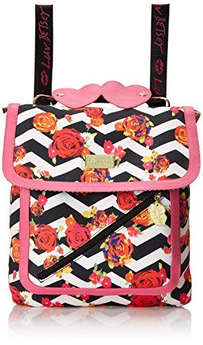 Who doesn't love a backpack and handbag in one? Look cool for back to school: #handbags #handbag #fashion #betseybabe  #fashion #floral #flowers #lips #kiss #betseybabe #luv #leopard_print #backtoschool #hearts #pink #bag #bags  LUV BETSEY by Betsey Johnson LB Zip Convertible Backpack, Chevron Floral, One Size LUV BETSEY by Betsey Johnson http://www.amazon.com/dp/B00VLN8CNC/ref=cm_sw_r_pi_dp_BOY3vb04GBWNG