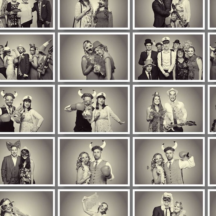 Artsy and Considered Black and White Pictures from our #greenscreen #photobooth #jellybooth