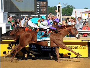 I'll Have Another winning the Preakness