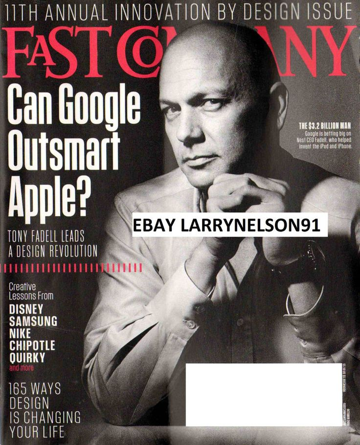 FAST COMPANY MAGAZINE OCTOBER 2014 CAN GOOGLE OUTSMART APPLE? DISNEY INNOVATION