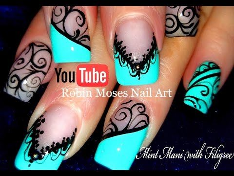 Elegant Nails | Formal Nail Art Designs | Wedding Nail Art Tutorials | E...