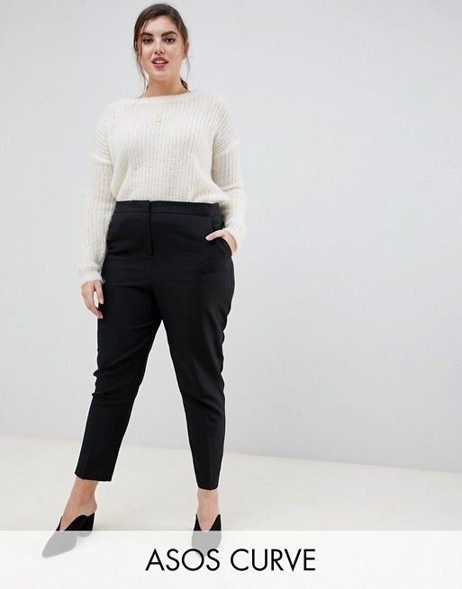 e029f5856 DESIGN Curve ultimate ankle grazer pants in 2019 | Business Casual ...
