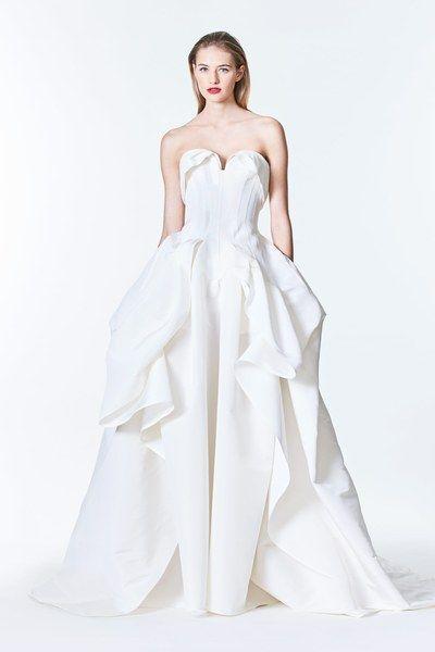 Carolina Herrera Bridal Fall 2017 Fashion Show