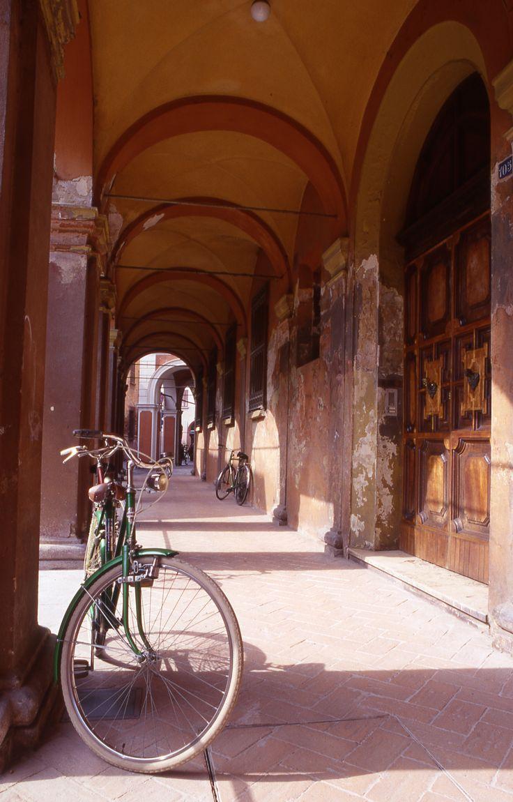 Portici di Corso Farini #Bagnacavallo (foto Archivio Comunale)