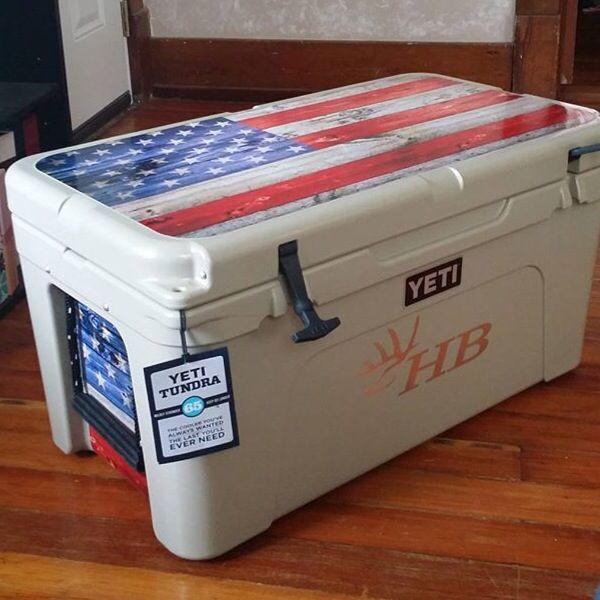 Yeti cooler ice chest www usatuff com graphics kit cooler wrap sticker