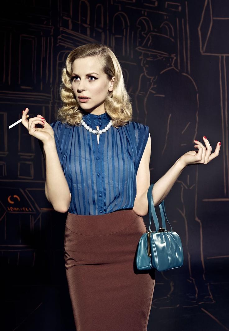 Long 1950s dress up ideas
