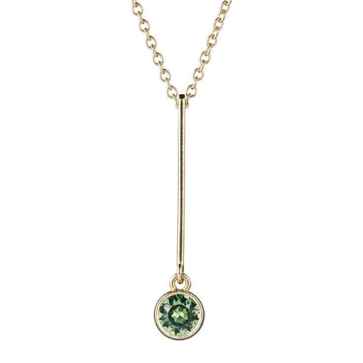 Kalevala Koru / Kalevala Jewelry / Hehku-riipus / Glimmer Pendant / Design Antonio Mazzamauro / Bronze & Swarovski glass