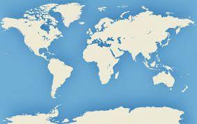 Resultado de imagem para mares e oceanos do mundo