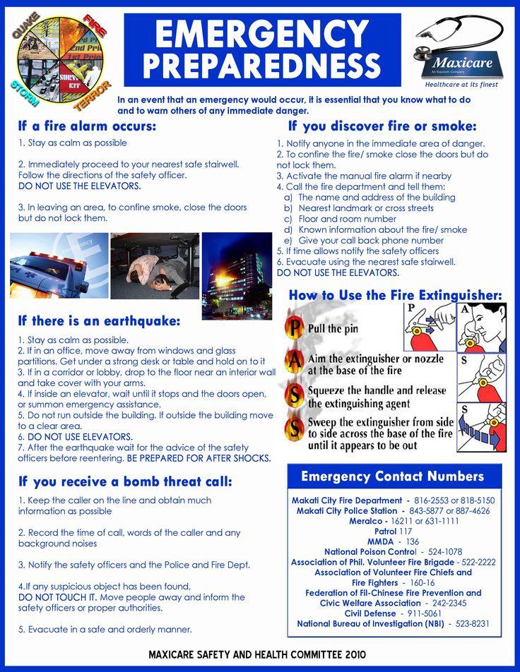 Shtf Emergency Preparedness: Emergency Preparedness Info From A Company