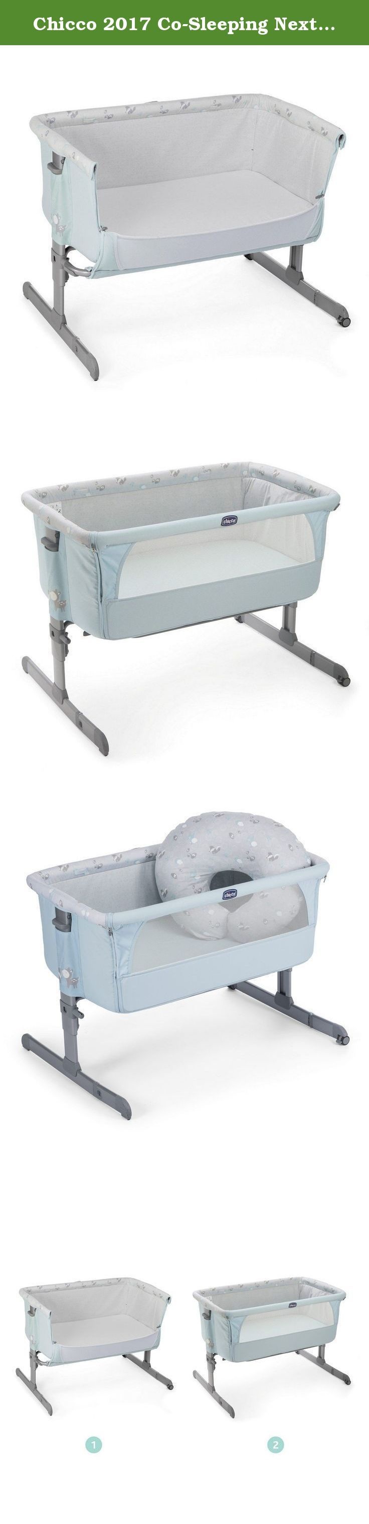 Chicco 2017 Co-Sleeping Next2Me Sky. berry Next2Me cradle Cradle Next2Me, everyone is happy. Space dedicated to sleep and dormitine where chasing wonderful dreams or exchanging smiles with mom and dad, the cradle is not only an essential accessory for any parent but also the environment that aims to transmit to the baby protection and safety from the earliest months, making the transition from the womb to the sweetest ectopic, natural and gradual. Designed to strengthen the bond between...