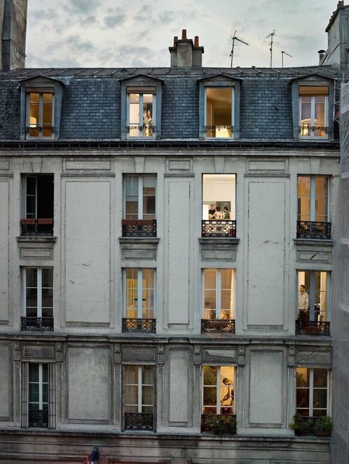 A Parisian apartment would be lovely please... - Vicki Archer //  https://www.instagram.com/vickiarcher/