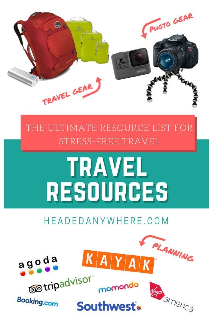 Travel planning resources, stress-free travel, travel gear, travel photography, travel accommodation