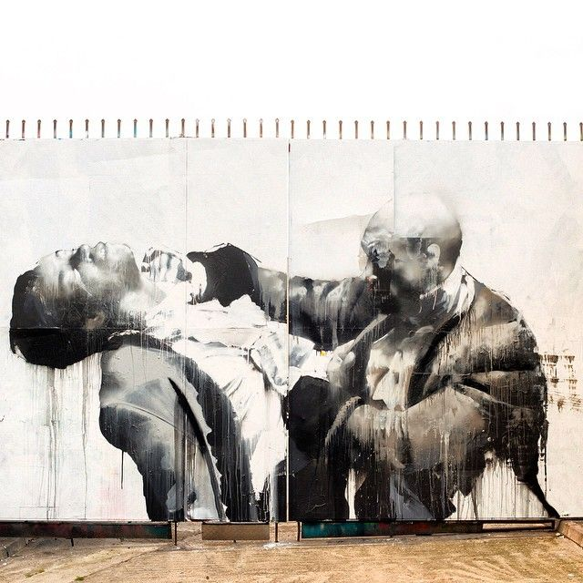 "Conor Harrington ""Once Were Warriors"" New Mural - East London, UK"