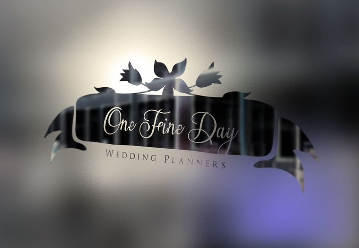 One Fine Day Wedding Planners LOGO - www.chicdesign.co.nz