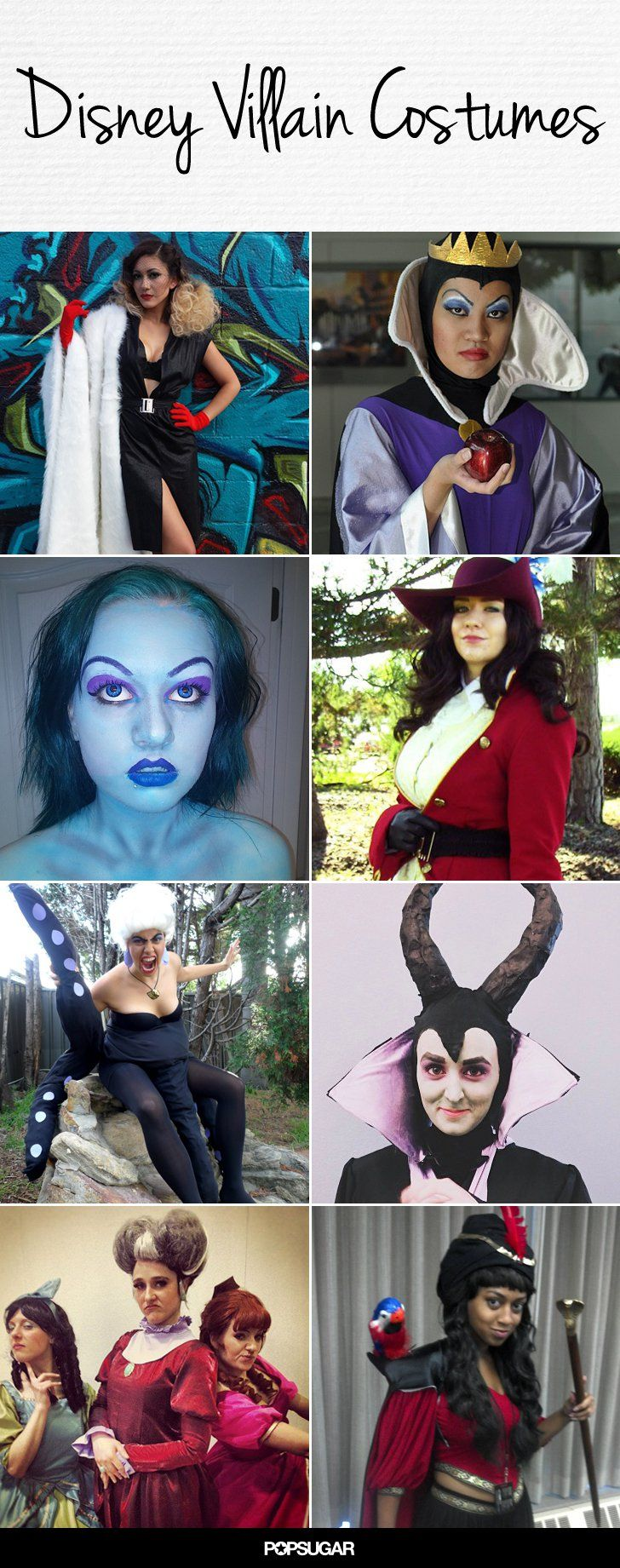 Wicked Awesome Disney Villain Halloween Costumes