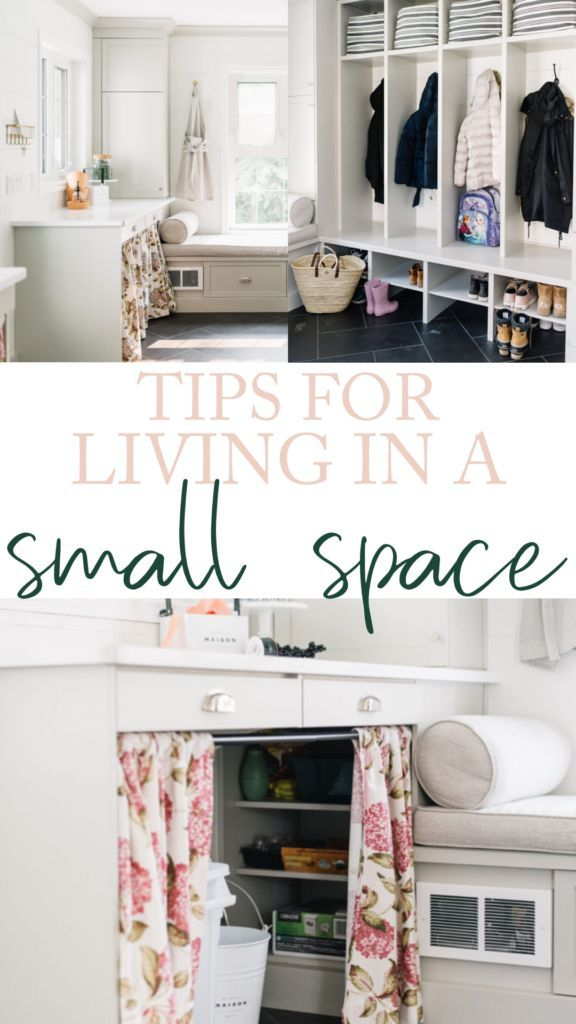 Simple Ideas For Mudroom Organization Small Space Living Small