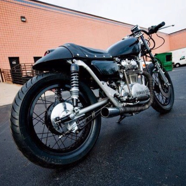 42 best yamaha motorcycles images on pinterest yamaha motorcycles 75 xs650 cafe racer custom by otm garage fandeluxe Image collections