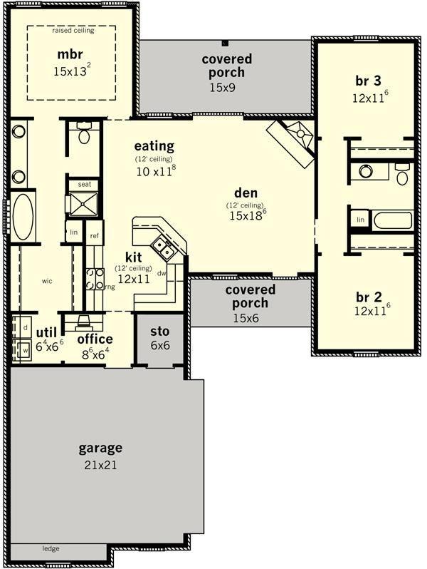 Best Floor Plans Images On   House Blueprints