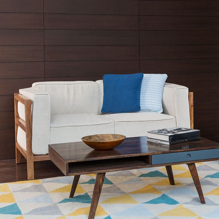 sofa  living  two seater  upholstered   white  blue  contemporary. 113 best Fabindia Furnishing images on Pinterest