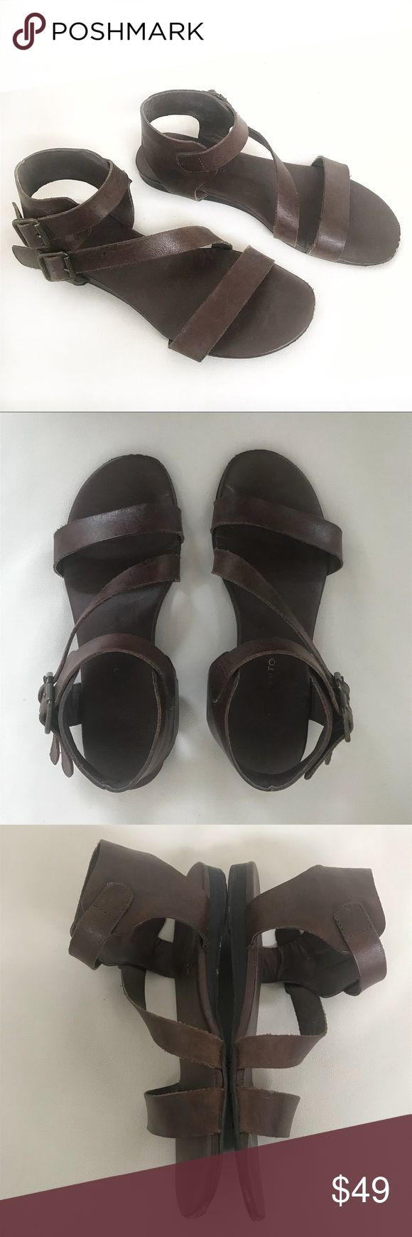 Franco Sarto brown leather sandals size 8 Franco Sarto brown leather sandals size 8  Chipped on the front (see pics) but in good condition otherwise   Not what you're looking for? Feel free to browse my closet for other occasions: Winter, spring, summer, fall, birthday, New Year's Eve, Valentine's Day date, Graduation, Prom, Purim, St. Patrick's Day, Easter, Earth Day, Cinco de Mayo, Mother's Day, EDC, Coachella, Memorial Day, Comic Con, 4th of July, Labor Day, Thanksgiving, Halloween…