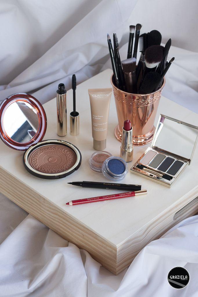 Clarins favourites #clarins #makeup #maquilhagem #batom #lipstick #eyeliner #eyeshadow #beauty #beleza