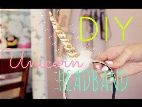 ▶ DIY Unicorn Headband Tutorial! | GettingPretty - YouTube